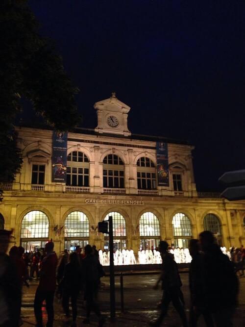 1/4 de finale Belgique-Pays de Galles Eurocup 2016 : Ma soirée à Lille