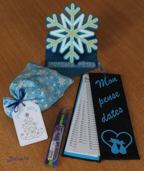 Cadeaux de Noël entre copines - pour Silvia