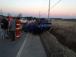 Accident de la route à Lambton