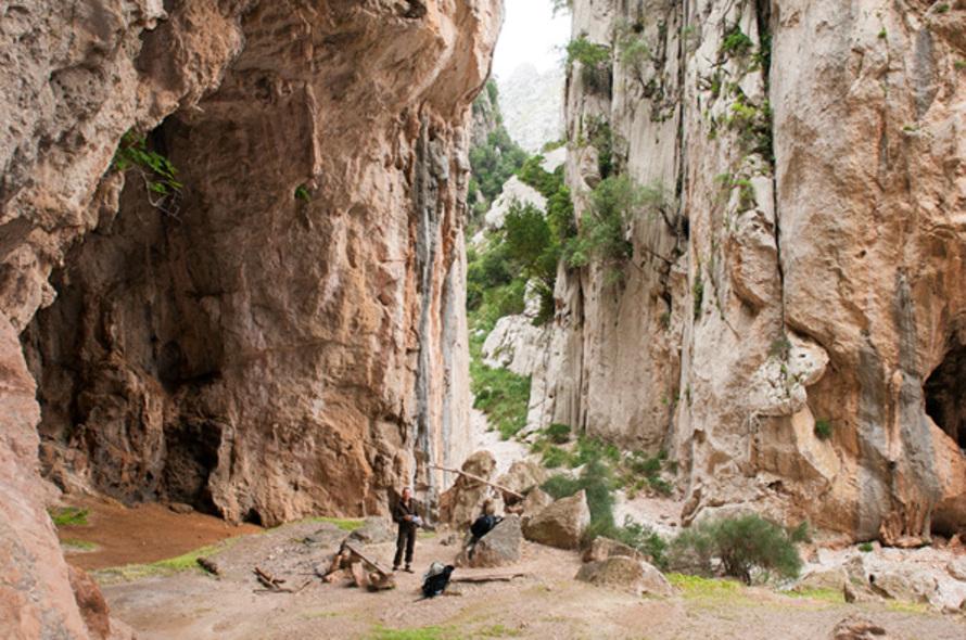 Sa Calobra - el torent del pareïs et le canyon