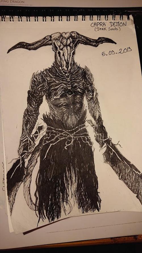 Démon Capra - Dark Souls