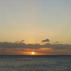 Coucher de soleil sur la Caraïbe - Photo : Edgar
