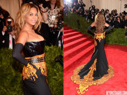 Beyonce au Met Gala 2013