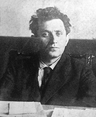 Grigori Zinoviev en 1921.