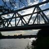 MOISSAC AOUT 2014 pont du chemin de fer 2 sur le Tarn photo mcmg82