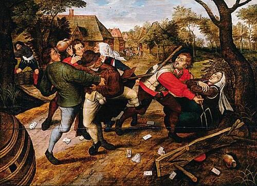 La violence sous l'Ancien Régime