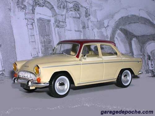 Simca P60  1960