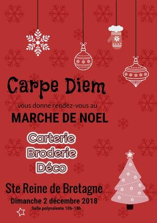 Carpe Diem au marché de Noël !