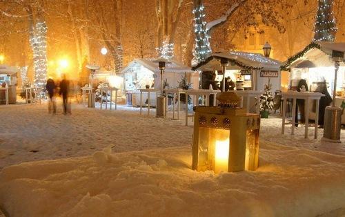 Zagreb en Croatie sous la neige!
