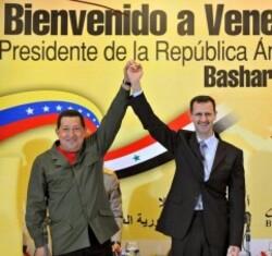 Bashar Al Assad Chavez 27 6 2010