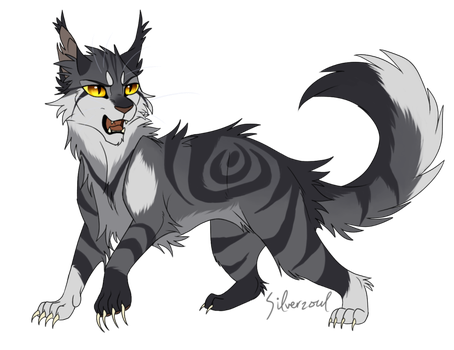 Thistleclaw by Silverzoul   Warrior cat memes, Warrior cat drawings,  Warrior cats fan art