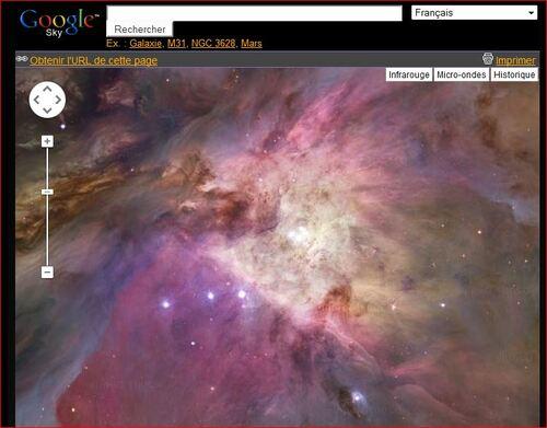 Un superbe site pour découvrir l'Univers. Explorez !