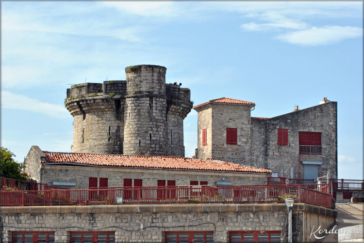 Photo du Fort de Socoa à Ciboure (Vauban)