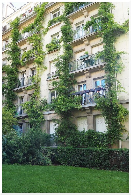 Jardin. Hôtel de Sens. Paris