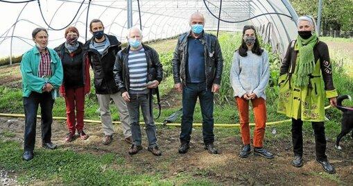 Les membres du collectif «Lorient contre Bayer-Monsanto» appellent à participer à la marche contre l'agrochimie, ce samedi samedi15.
