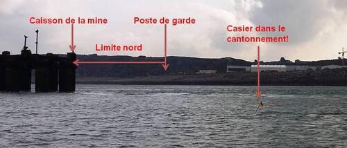 Cantonnement à crustacés de Flamanville-Diélette