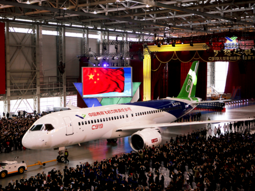 Ending Airbus' and Boeing's global dominance.