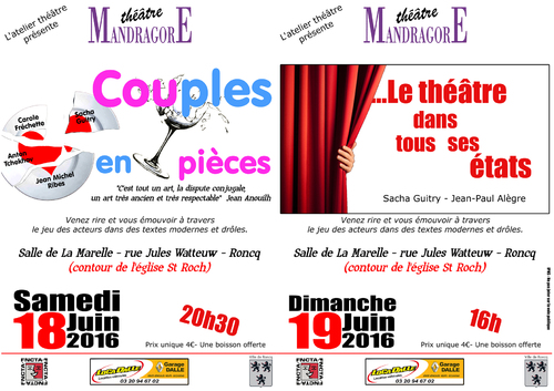 Double spectacle atelier adulte