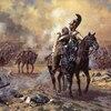 Bataille de Borodino peinture de Averyanov