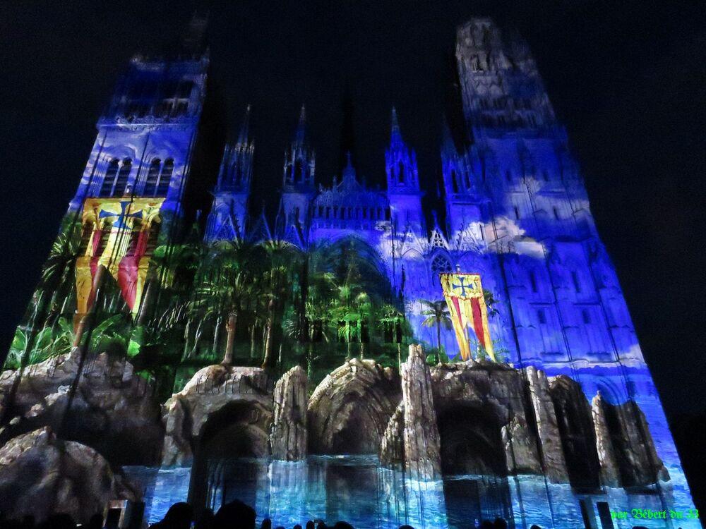 illumination à Rouen