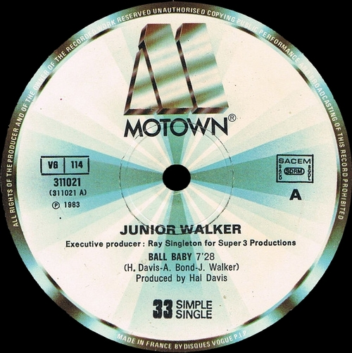 "Jr. Walker : Album "" Blow The House Down "" Motown Records 6053ML [ US ]"