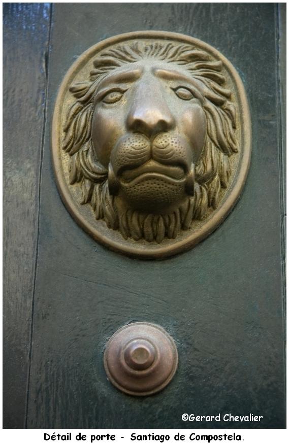 Détail de porte.