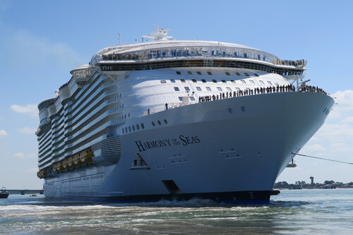 L'Harmony of the Seas vogue vers sa nouvelle vie