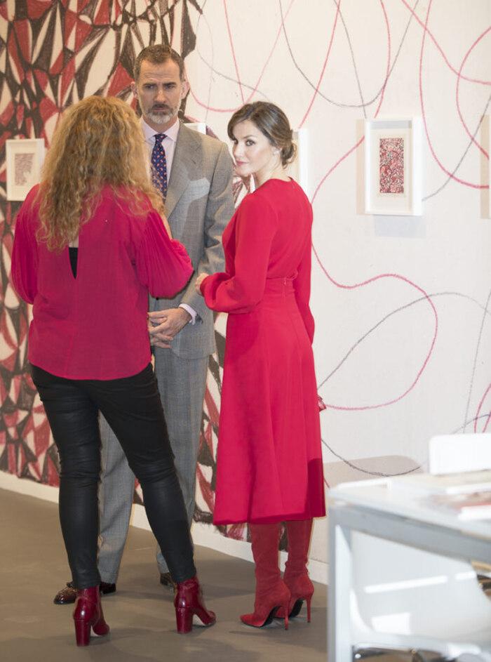 Felipe et Letizia - inauguration