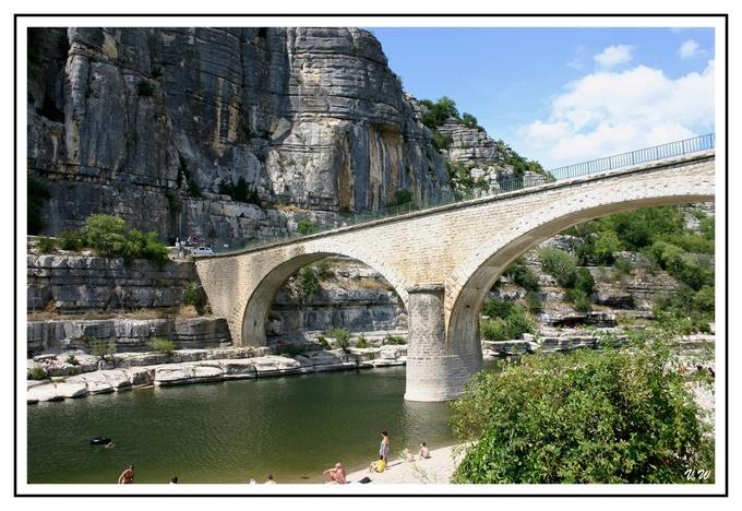 Au bord de l'Ardèche