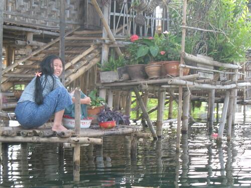 le lac Inle ..Birmanie..2007