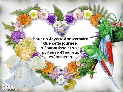 Heureux anniversaire !