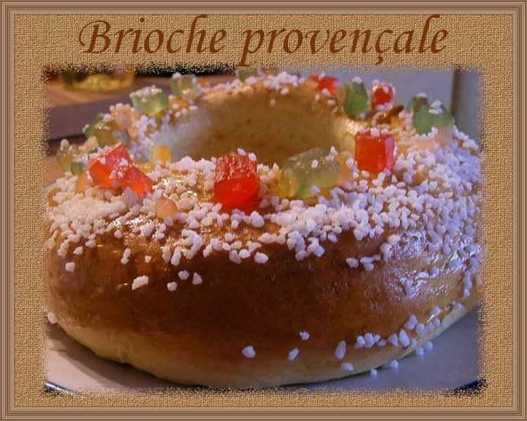 Brioche provençale