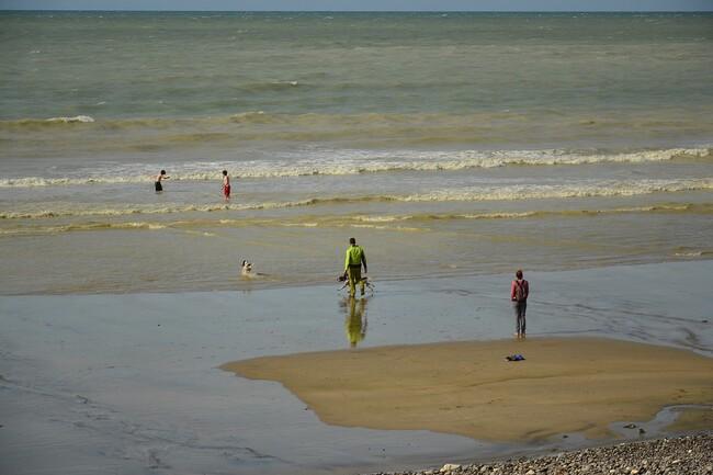 2014.08.12 St-Valéry en Caux, Veules les Roses, Seine Maritime (Haute-Normandie)