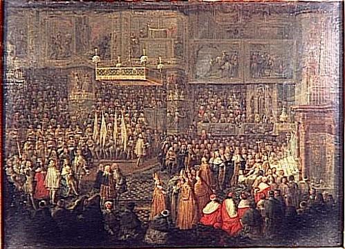 Jean-Baptiste Martin, Sacre de Louis XV, 25 octobre 1722