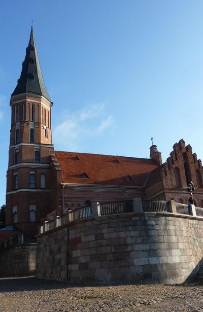 Les pays Baltes : Lituanie 2 - Château de Trakai et ville de Kaunas