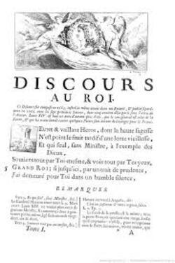 Discours au Roi...Poèmes Satires XVIIe  siècle.....Nicolas Boileau . (1636 – 1711)
