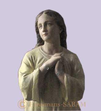 Statue après restauration - Arts et sculpture: artistes peintres, sculpteurs