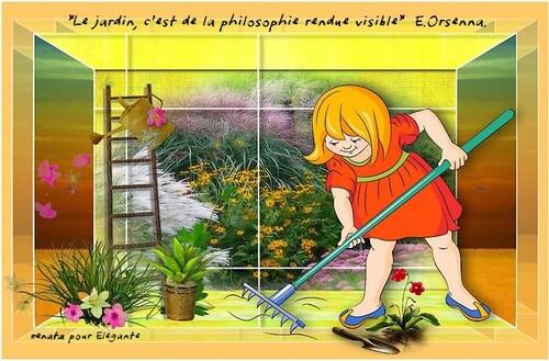 Mon jardin façon scrap