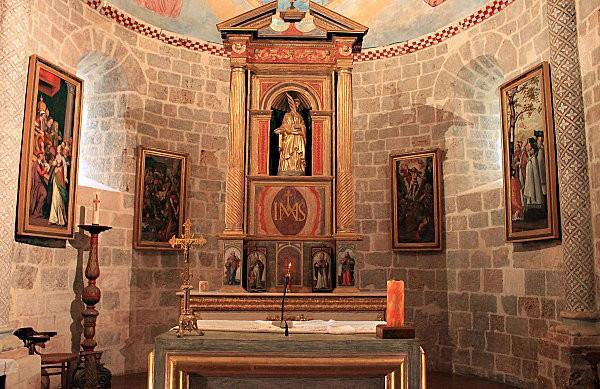 Ste Engrâce -10- l'église romane