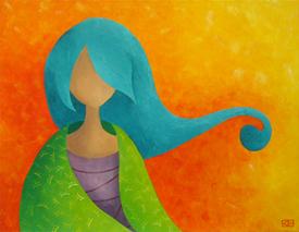 Peintures inspirées d'aquarelles