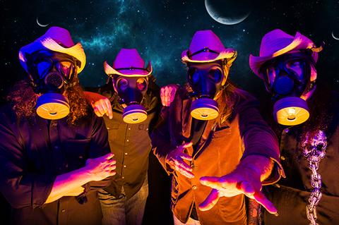 """GALACTIC COWBOYS - Les détails du nouvel album ; Clip """"Internal Masquerade"""""""