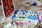 Peinture inspiration Paul Klee