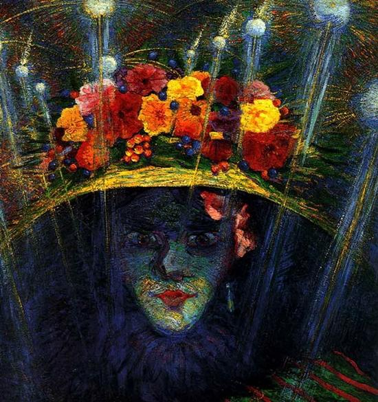 Umberto Boccioni, Idole moderne, 1911