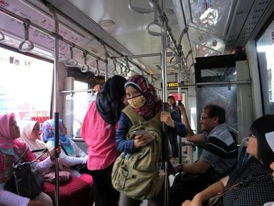 16 Juillet 2014 - Jakarta... ça le fait vraiment pas !