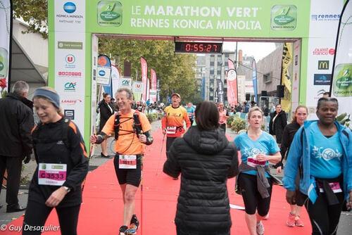 Le Marathon Vert - Rennes - Dimanche 23 octobre 2016