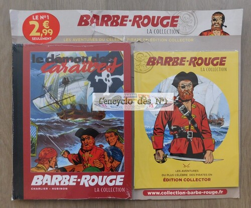 N° 1 Collection BD Barbe-Rouge - Test