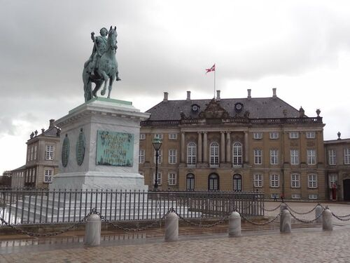 A vélo, Amalienborg