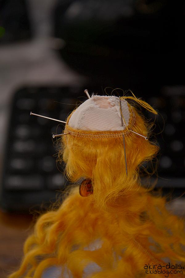 Mohair Diy Wig + HeadCap 1/8 (2'3)