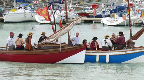 Les Sonneurs sur les bateaux