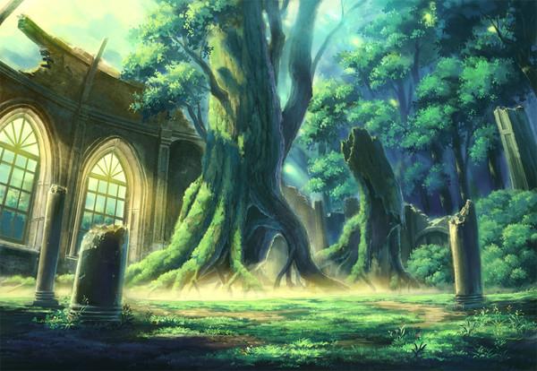 """Résultat de recherche d'images pour """"image manga paysage"""""""